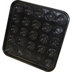 22 SNOOKER BALLS PLATE