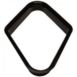 """Losange pour """"9"""" - plastique noir pour 57mm"""