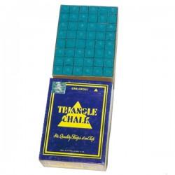 Craies de billard Triangle - 144 craies de billard bleues