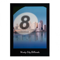 """Windy city billiards"" Poster"