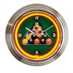 Horloge neon NBU - 6