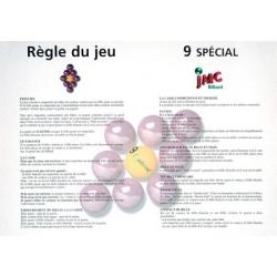REGLE DE JEU DU 9 SPECIAL