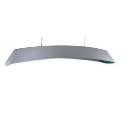 """Luminaire """"Iris"""" Argent 140 cm"""