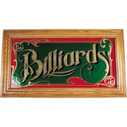 BILLIARD MIRROR