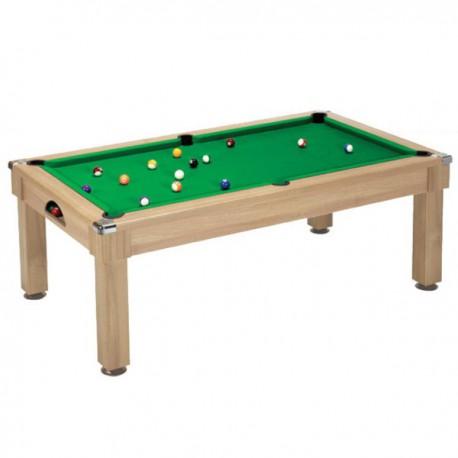 Billard table Saloon - pool anglais 7FT Chêne