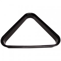 "Triangle billard ""Ø52.4mm"" - plastique noir"