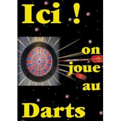 Poster darts - 29,7 x 42 cm