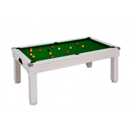 Billard table Saloon - pool anglais 7FT Blanc