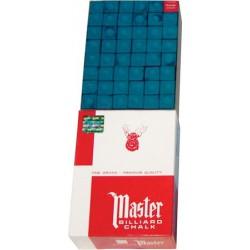 """Craies billard """"Master"""" bleues - 144 pièces"""