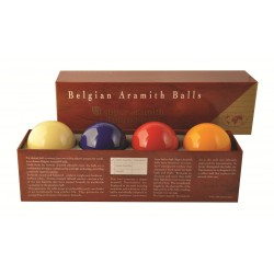 SUPER ARAMITH TOURNAMENT CAROM BALLS Ø61.5mm 4 Balls