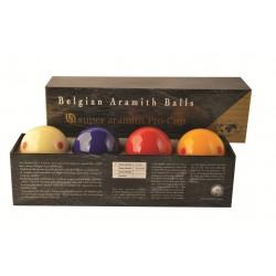 SUPER ARAMITH PRO CUP CAROM BALLS Ø61.5mm 4 Balls
