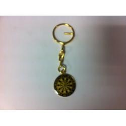 Porte clef cible couleur