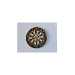 Pin's cible fléchette couleur