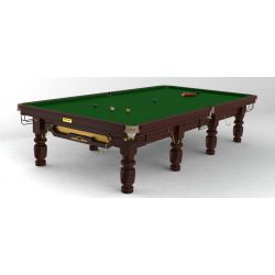 Snooker Riley CLUB 12FT Acajou