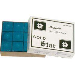 BLUE GOLD STAR CHALK 12 PIECES