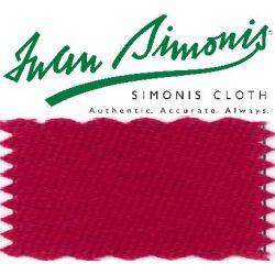 Drap Simonis 760 Rouge