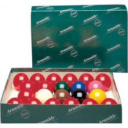Billes ARAMITH snooker Ø52.4mm