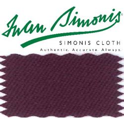 Drap Simonis 760 Lie de Vin