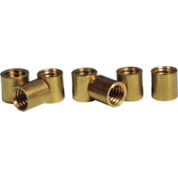 BRASS FERRULES FOR SNOOKER Ø 0,39 in