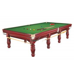 SNOOKER Prince 12FT Acajou