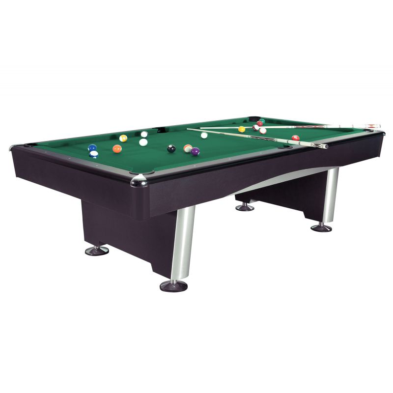7ft black triumph billiard jmc billard