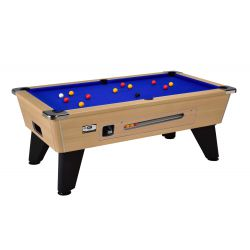 black ash OMEGA ENGLISH POOL with coin-operated device