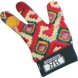 Gant de billard multicolore - taille unique - main droite