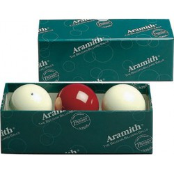 ARAMITH FRENCH BILLIARD BALL SET - Ø 2,4 IN