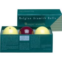 TRADITIONAL SUPER ARAMITH FRENCH BILLIARD BALL SET - Ø 2,4 IN