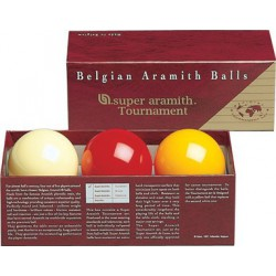 SUPER TOURNAMENT FRENCH BILLIARD BALL SET - Ø 2,4 IN