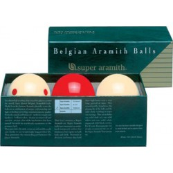 TRAINING SUPER ARAMITH FRENCH BILLIARD BALL SET - Ø 2,4 IN