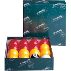 CASINO ENGLISH POOL BALL SET – Ø 2 IN