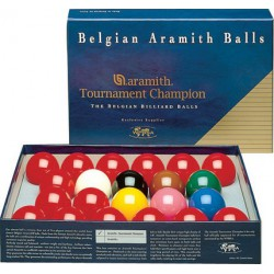 CHAMPION TOURNAMENT ARAMITH SNOOKER BALL SET