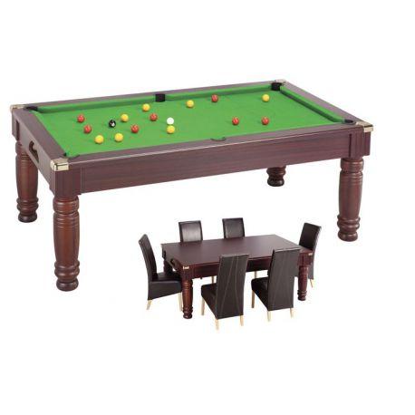 Billard table Diners - pool anglais 7ft Châtaignier