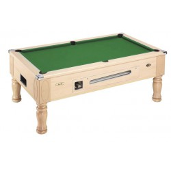 ash ASCOT ENGLISH POOL TABLE with coin-operated device
