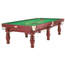 9 FT MAHOGANY PRINCE SNOOKER TABLE