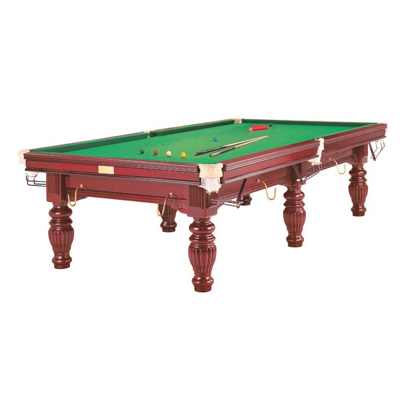 9 ft mahogany prince snooker table jmc billard - Taille table snooker ...