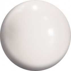 WHITE ARAMITH CUE BALL -  Ø2 IN