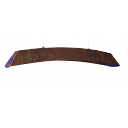 Luminaire Iris Rouille 140 cm