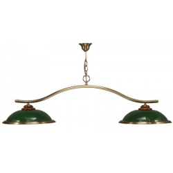 GREEN COLOURED MOULIN 2/L LIGHTS 49.6 in