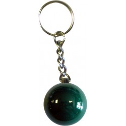 GREEN KEY RING Ø01,3IN