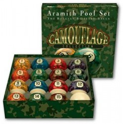 CAMOUFLAGE ARAMITH US BALL SET –Ø 2,2 IN