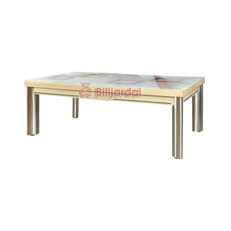 Mirage option plateau table verre securit d poli avec - Verre securit pour table ...