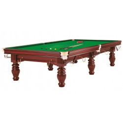 Snooker Prince 10ft acajou