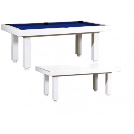 Billard table Dino Extra blanc