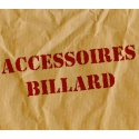 Destock billiards accessories