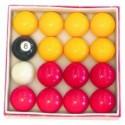 English Pool Balls